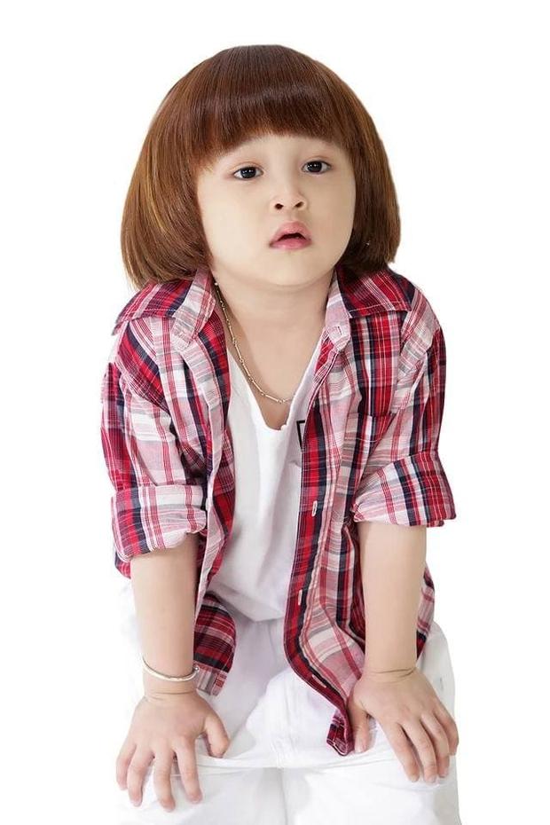 Thiên Khôi - Cậu bé tóc Maika đáng yêu năm nào còn crush Phương Ly giờ đã lớn phổng phao - Ảnh 2.