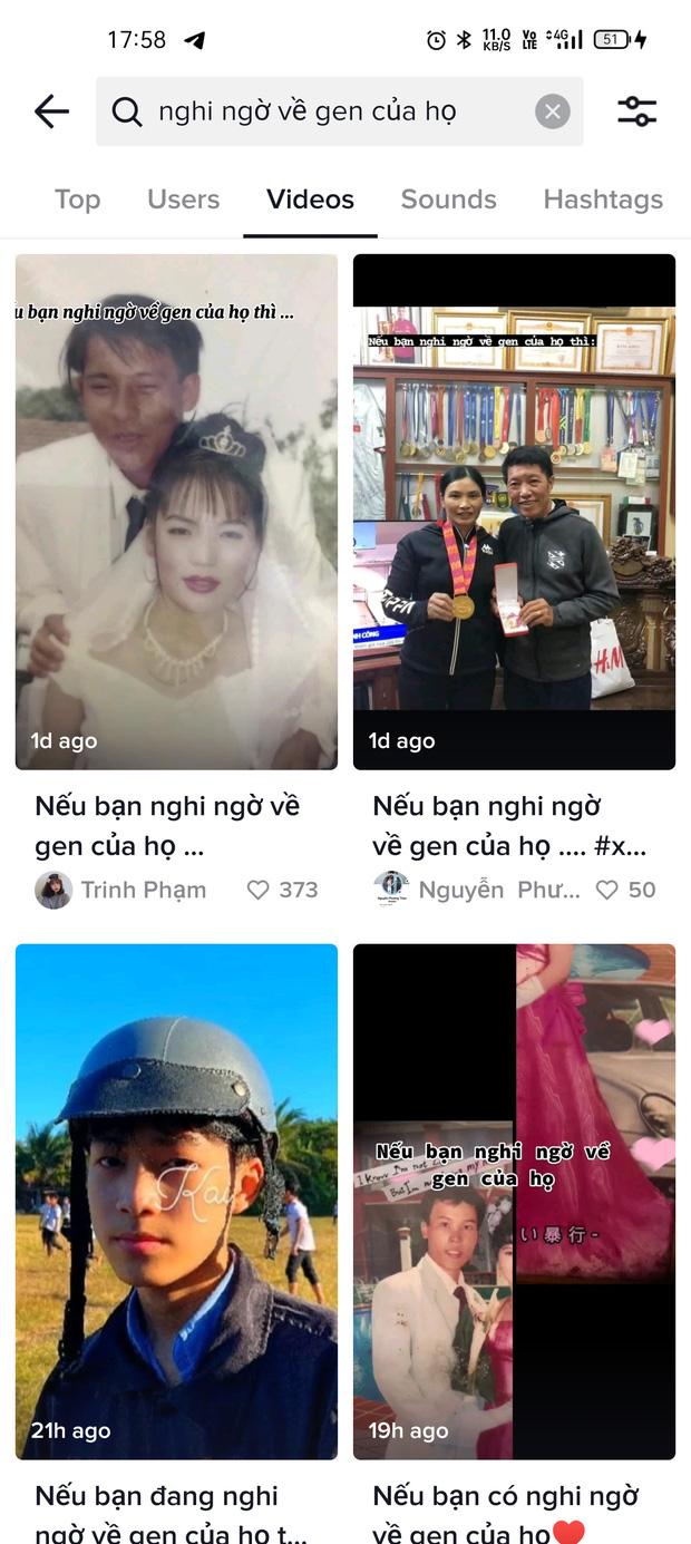 Trào lưu khoe gen trội đang thống trị TikTok Việt, nhưng gây tranh cãi nhất chính là nhạc nền quá gây ám ảnh? - Ảnh 1.
