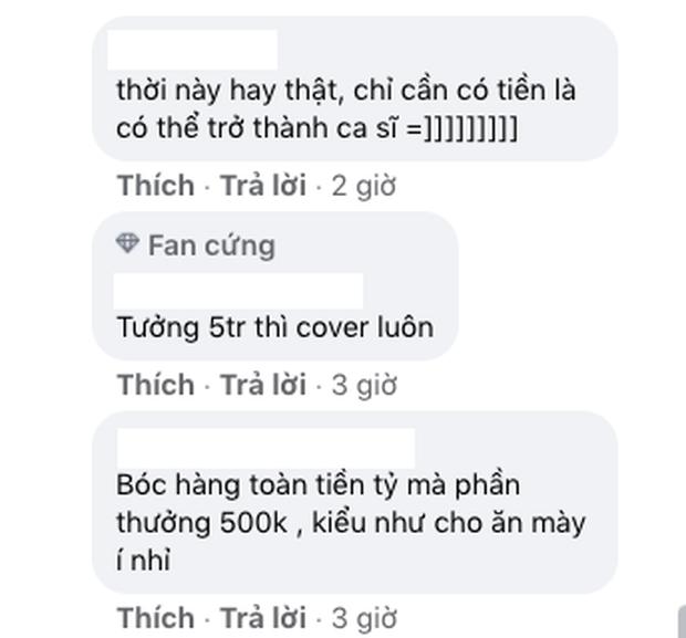 Ngọc Trinh trao thưởng nửa triệu cho ai cover hay nhất ca khúc đầu tay, netizen trêu: Đừng có chê ít, người ta mới mất đồ mười mấy tỷ đó - Ảnh 3.