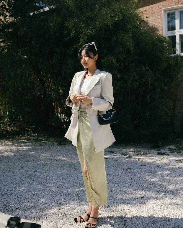 Sở hữu tips hack dáng nhờ váy xẻ cao trong tay, nàng chân ngắn hoá chân dài miên man trong tích tắc - Ảnh 7.