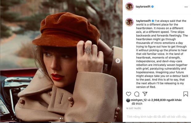 Taylor Swift sở hữu 163 triệu người theo dõi trên Instagram, xếp thứ 13 toàn cầu nhưng sao không có nổi một bình luận? - Ảnh 3.