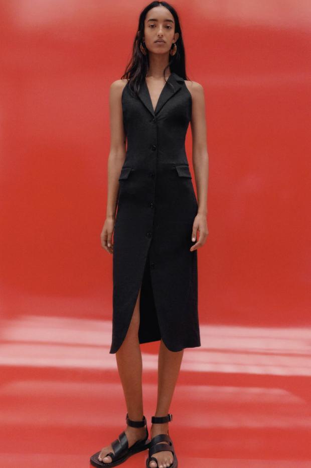 """Khánh Linh sang chảnh với """"váy thư ký"""" 2 triệu của Zara, bonus thêm cho bạn vài mẫu tương tự mà rẻ hơn nhiều  - Ảnh 2."""