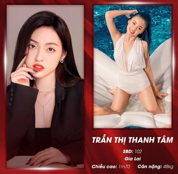 Vừa chắc suất diện kiến HLV The Face, Hot girl trứng rán Trần Thanh Tâm lại đi thi Hoa khôi? - Ảnh 2.