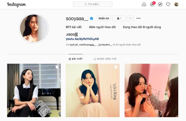 Jisoo (BLACKPINK) cán mốc 42 triệu follower, đánh chiếm top trending khắp thế giới - Ảnh 3.