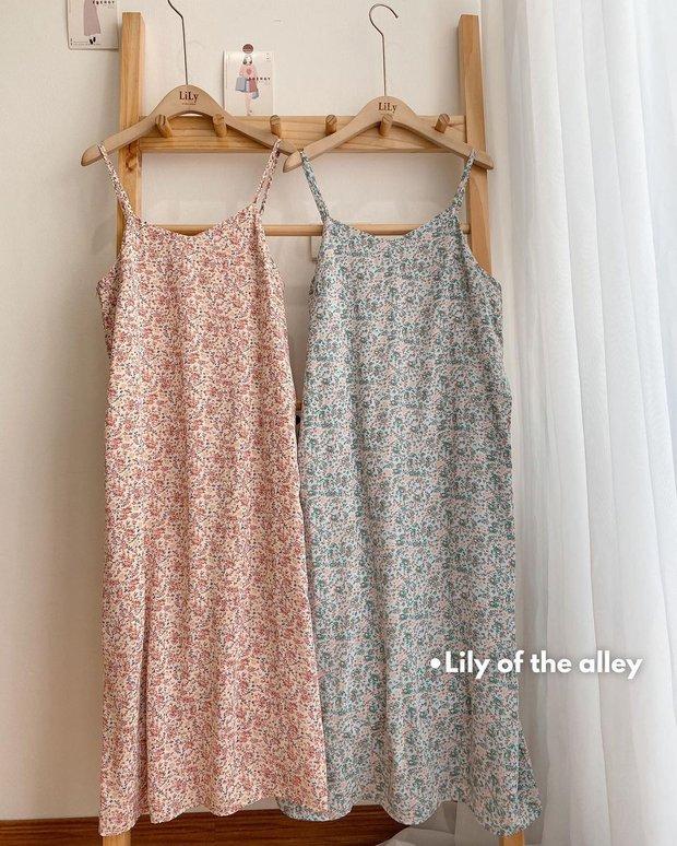"""Giờ sắm váy hai dây hoa nhí là """"chuẩn bài"""" rồi chị em, vừa xinh vừa mát mà giá lại hạt dẻ - Ảnh 1."""