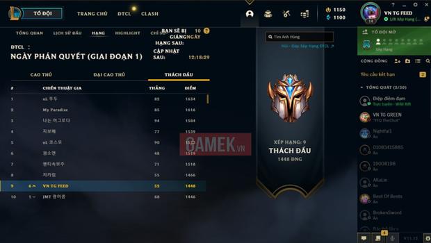 Game thủ Việt bất ngờ lọt top 10 Thách Đấu Đấu Trường Chân Lý máy chủ Hàn Quốc, gây sốc vì profile siêu khủng - Ảnh 2.