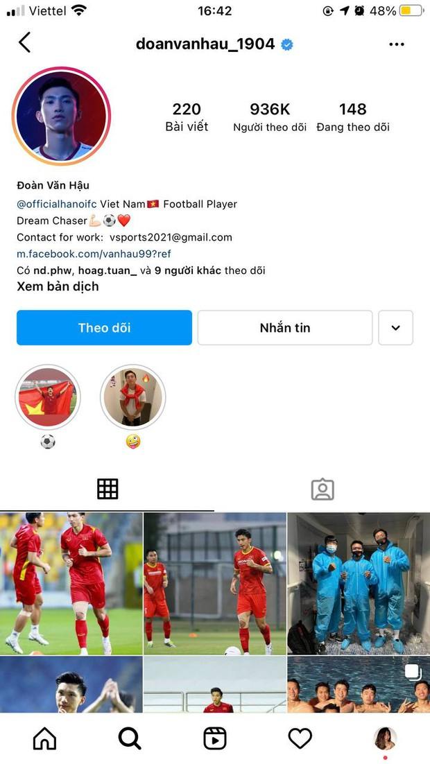 Không phải Đoàn Văn Hậu, Quang Hải hay Bùi Tiến Dũng, cầu thủ Việt có nhiều người theo dõi nhất trên Instagram là ai? - Ảnh 2.