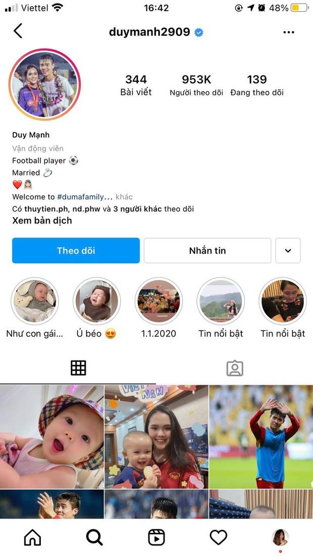 Không phải Đoàn Văn Hậu, Quang Hải hay Bùi Tiến Dũng, cầu thủ Việt có nhiều người theo dõi nhất trên Instagram là ai? - Ảnh 5.