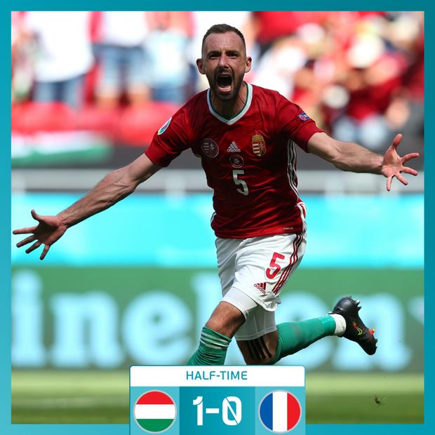 Chấn động Euro: Nhà vô địch thế giới Pháp hòa thất vọng trước Hungary trong ngày thi đấu dưới sức ép của hơn 5 vạn khán giả - Ảnh 10.