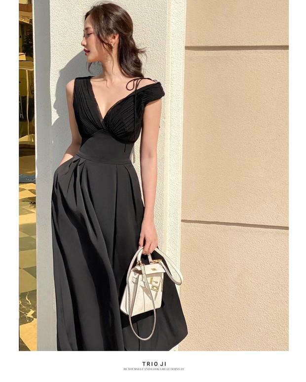 """Khánh Linh sang chảnh với """"váy thư ký"""" 2 triệu của Zara, bonus thêm cho bạn vài mẫu tương tự mà rẻ hơn nhiều  - Ảnh 8."""