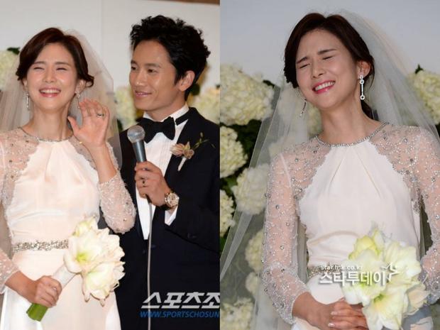 Mợ út tài phiệt của Mine Lee Bo Young: Hoa hậu bị gán mác tiểu tam, cự tuyệt tài tử Ji Sung rồi lại cùng chàng có kết đẹp như cổ tích - Ảnh 14.