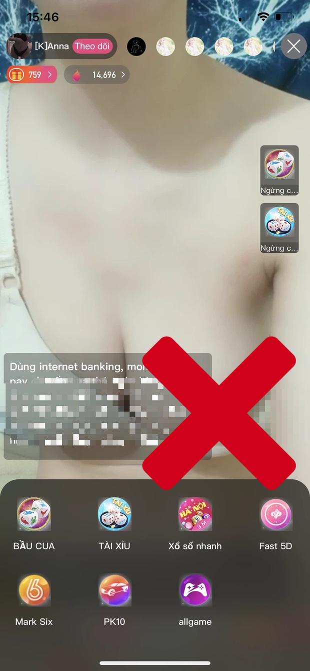 Xuất hiện ổ mại dâm, cá cược online núp bóng nền tảng livestream, tràn lan hình ảnh khoả thân, thủ dâm, cờ bạc! - Ảnh 12.