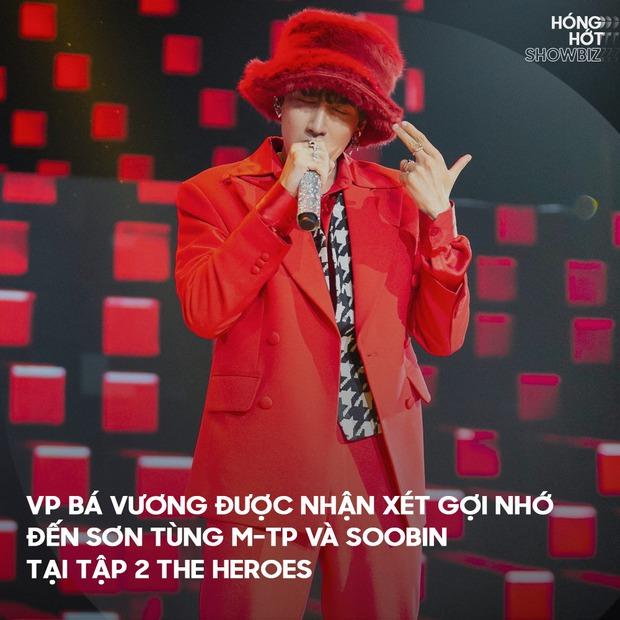 Tân binh Vpop xuất hiện tại The Heroes được ví như Sơn Tùng M-TP và Soobin, và netizen đồng loạt gọi tên G-Dragon! - Ảnh 3.