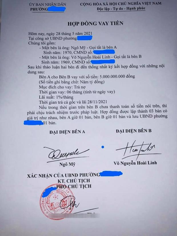 Xôn xao giấy vay nợ 5 tỷ đồng được cho là của NS Hoài Linh: UBND phường Phú Mỹ nói gì? - Ảnh 1.