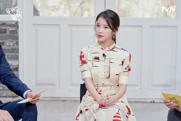 Cùng diện váy gần 100 triệu nhưng trưởng nhóm TWICE lép vế hẳn so với Lee Ji Ah và IU - Ảnh 3.