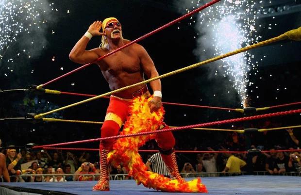 Huyền thoại Hulk Hogan sở hữu bắp tay cực khủng dù đã gần thất thập, tiết lộ số trọng lượng điên rồ có thể nâng thành công - Ảnh 3.