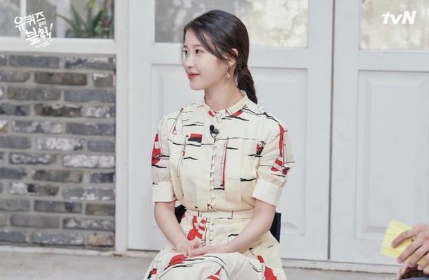 Cùng diện váy gần 100 triệu nhưng trưởng nhóm TWICE lép vế hẳn so với Lee Ji Ah và IU - Ảnh 4.