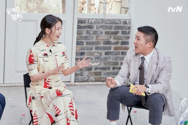 Cùng diện váy gần 100 triệu nhưng trưởng nhóm TWICE lép vế hẳn so với Lee Ji Ah và IU - Ảnh 5.