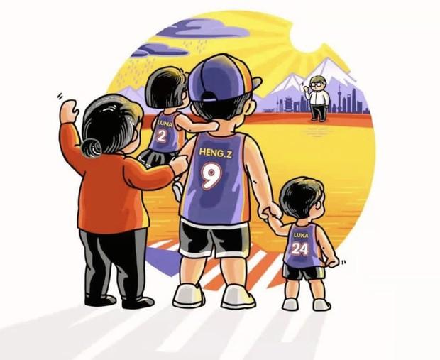Sau 1 tháng thắng kiện, Trương Hằng đăng ảnh tiết lộ tình hình 2 đứa con kèm thông điệp ẩn ý về Trịnh Sảng - Ảnh 3.