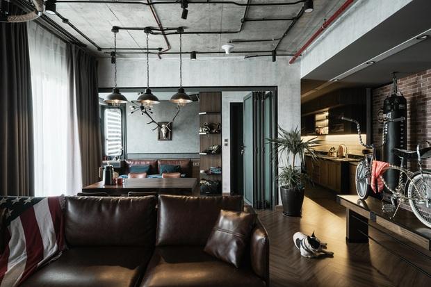 Chàng trai bỏ 800 triệu thiết kế căn hộ đậm chất dân chơi, đầu tư cả quầy bar để chill tại nhà mùa dịch - Ảnh 3.