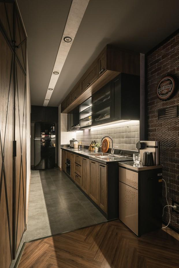 Chàng trai bỏ 800 triệu thiết kế căn hộ đậm chất dân chơi, đầu tư cả quầy bar để chill tại nhà mùa dịch - Ảnh 11.
