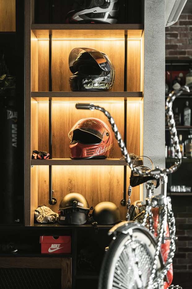 Chàng trai bỏ 800 triệu thiết kế căn hộ đậm chất dân chơi, đầu tư cả quầy bar để chill tại nhà mùa dịch - Ảnh 2.
