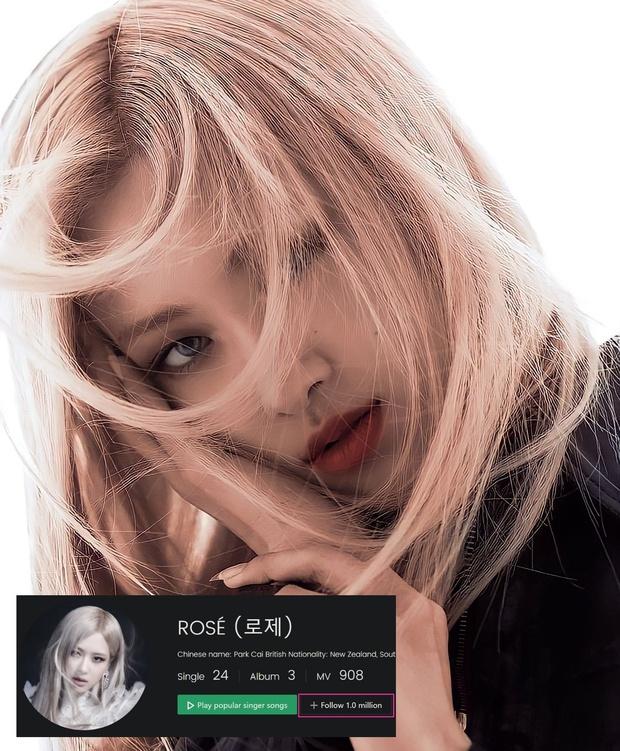Không chỉ cán mốc 42 triệu lượt theo dõi trên Instagram, Rosé còn là thành viên đầu tiên của BLACKPINK đạt thành tích khủng này! - Ảnh 2.