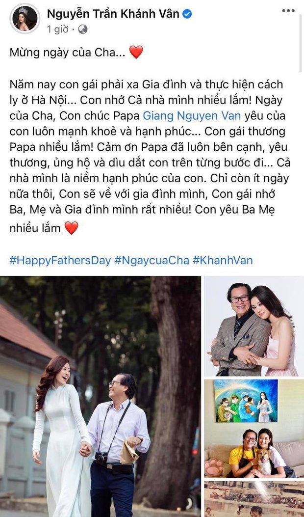 Khánh Vân, Chi Pu và dàn sao gửi lời đặc biệt trong Ngày của Cha, Diệu Nhi có tâm sự xúc động về đấng sinh thành - Ảnh 2.