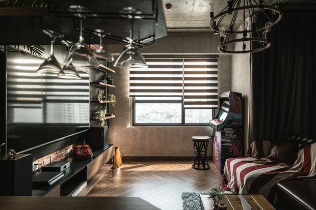 Chàng trai bỏ 800 triệu thiết kế căn hộ đậm chất dân chơi, đầu tư cả quầy bar để chill tại nhà mùa dịch - Ảnh 5.