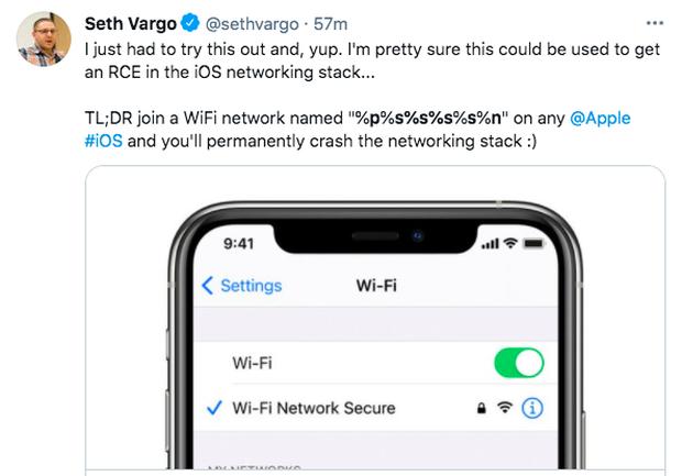 Xuất hiện lỗi đặt tên mạng khiến iPhone bị hỏng kết nối WiFi lẫn AirDrop, gây hoang mang cho nhiều người dùng - Ảnh 4.