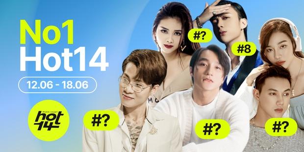 No.1 HOT14 tuần này vẫn là Sơn Tùng - Jack cạnh tranh hay MV mới của Dương Hoàng Yến có kịp tạo nên bất ngờ? - Ảnh 2.