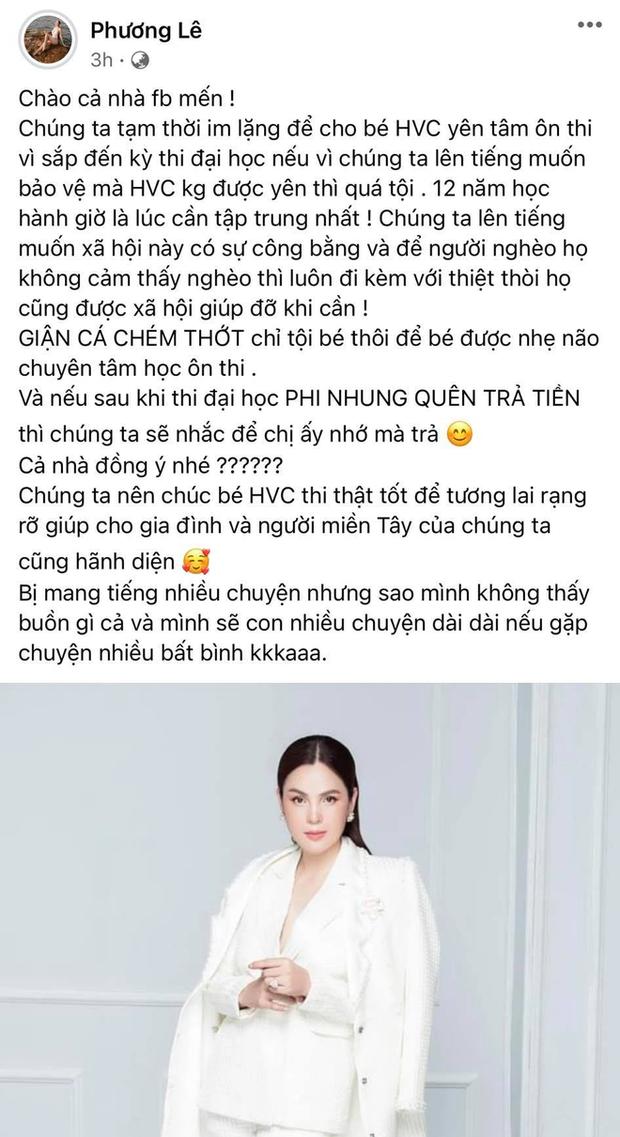 """Người kết nối Phi Nhung nhận con nuôi Hồ Văn Cường tiết lộ cuộc gọi với người trong cuộc, mỉa mai thẳng mặt """"Hoa hậu ở nhà 200 tỷ đồng - Ảnh 5."""