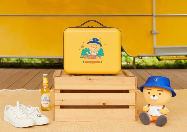 Kakao Friends có 8 món phụ kiện mùa hè cưng xỉu: Từ khuôn làm đá đến đủ loại quạt xinh quá trời - Ảnh 21.