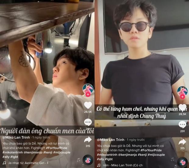 Miko Lan Trinh và bạn trai chuyển giới liên tục cho fan ăn cẩu lương, tiết lộ lý do chưa thể tiến tới hôn nhân ở thời điểm hiện tại - Ảnh 3.