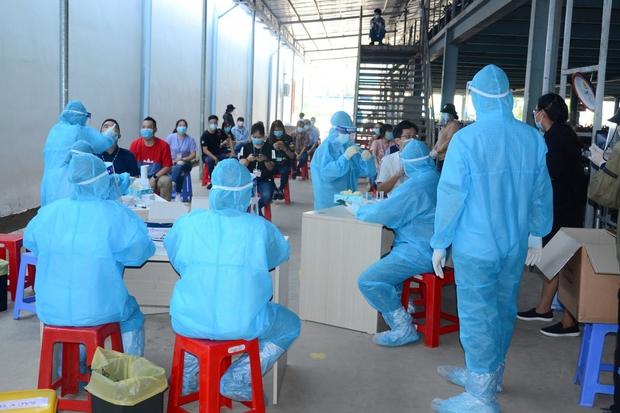 Hơn 460 công nhân lao động tại dự án điện gió ở Tiền Giang đều âm tính SARS-CoV-2 - Ảnh 1.