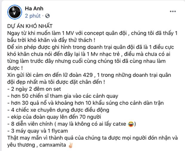 Cha đẻ ca khúc tiết lộ mức cát xê dàn khách mời Sao Nhập Ngũ trong MV Dương Hoàng Yến, nghe xong giật mình - Ảnh 3.