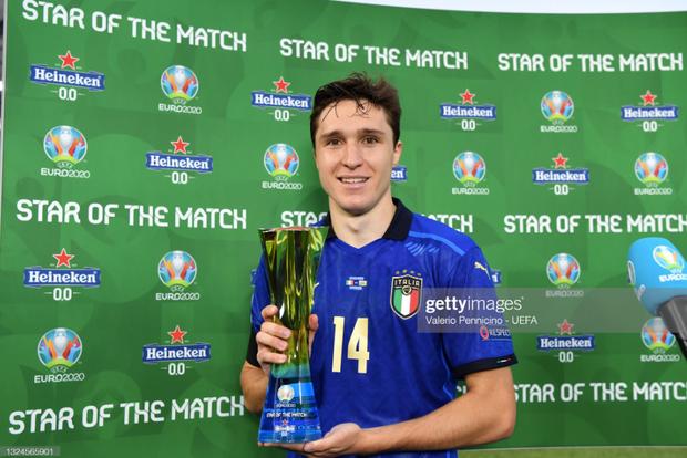 Italy 1-0 Xứ Wales: Dàn trai đẹp nước Ý toàn thắng tại vòng bảng Euro 2020 - Ảnh 5.