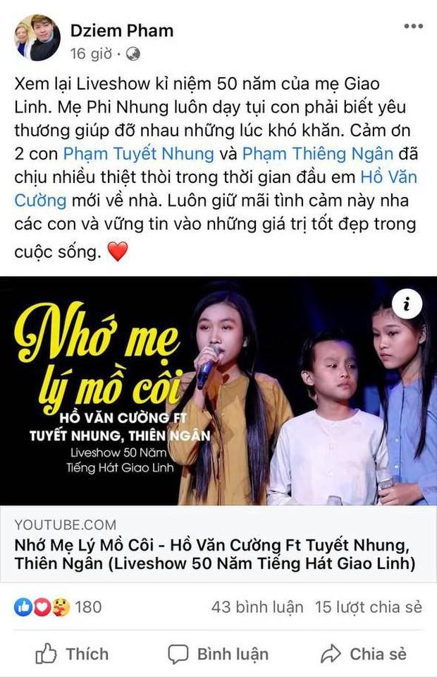 Quản lý bất ngờ tiết lộ 2 con gái nuôi của Phi Nhung chịu thiệt thòi khi Hồ Văn Cường chuyển tới - Ảnh 2.