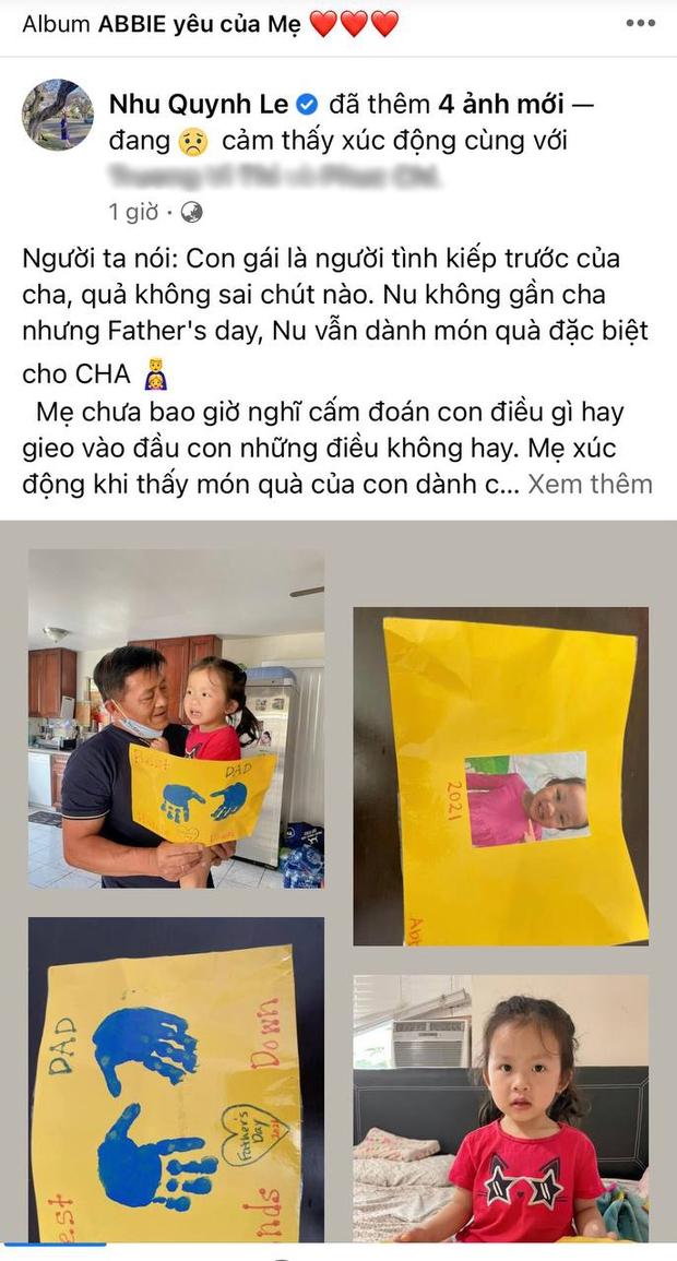 Con gái Hoàng Anh tự tay làm quà nhưng không thể tặng cho cha, vợ cũ chia sẻ lý do khiến netizen xúc động - Ảnh 2.