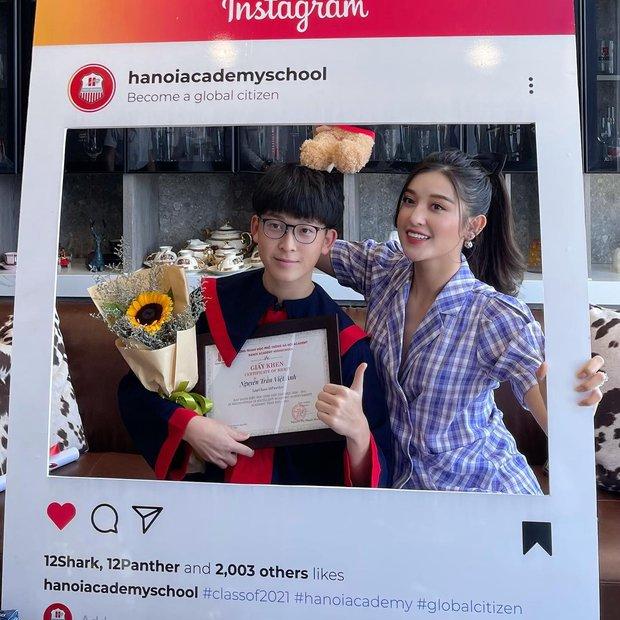 Em trai Á hậu Huyền My học trường quốc tế học phí khủng, vừa tốt nghiệp cấp 3 soi ra thành tích đáng nể - Ảnh 4.