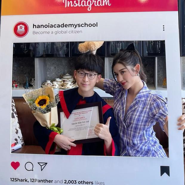 Em trai Á hậu Huyền My học trường quốc tế học phí khủng, vừa tốt nghiệp cấp 3 soi ra thành tích đáng nể - Ảnh 3.