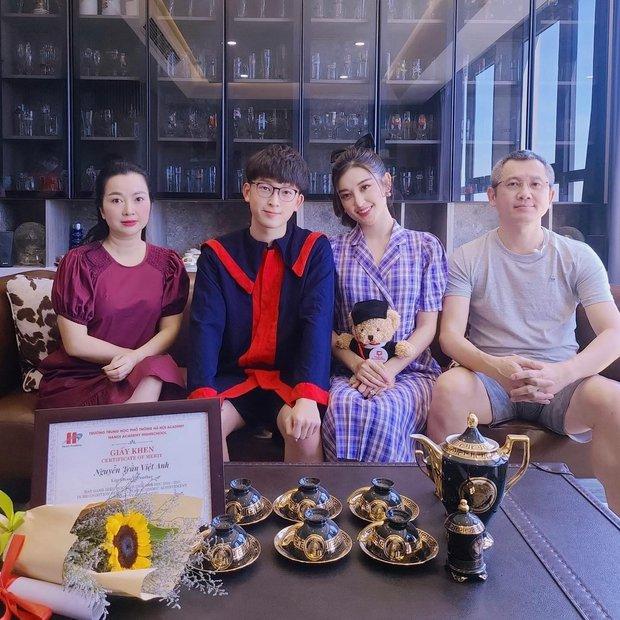 Em trai Á hậu Huyền My học trường quốc tế học phí khủng, vừa tốt nghiệp cấp 3 soi ra thành tích đáng nể - Ảnh 1.