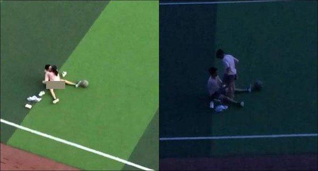 Rò rỉ video 2 học sinh quan hệ ngay giữa sân thể dục, người xem đồng loạt đòi Hiệu trưởng đình chỉ học - Ảnh 1.