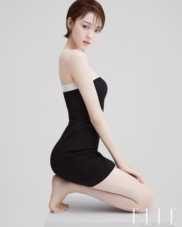 Tiên nữ cử tạ Lee Sung Kyung bất ngờ đổi gió xuống tóc ngắn chưa từng có, người đâu lột xác tomboy mà vẫn đẹp không chê nổi - Ảnh 9.