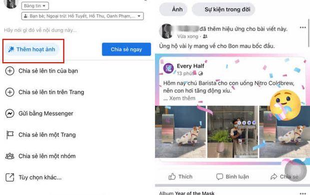 Facebook vừa thêm một rổ hiệu ứng cho Story, cộng đồng mạng kêu trời vì ngày càng giống với Instagram - Ảnh 1.