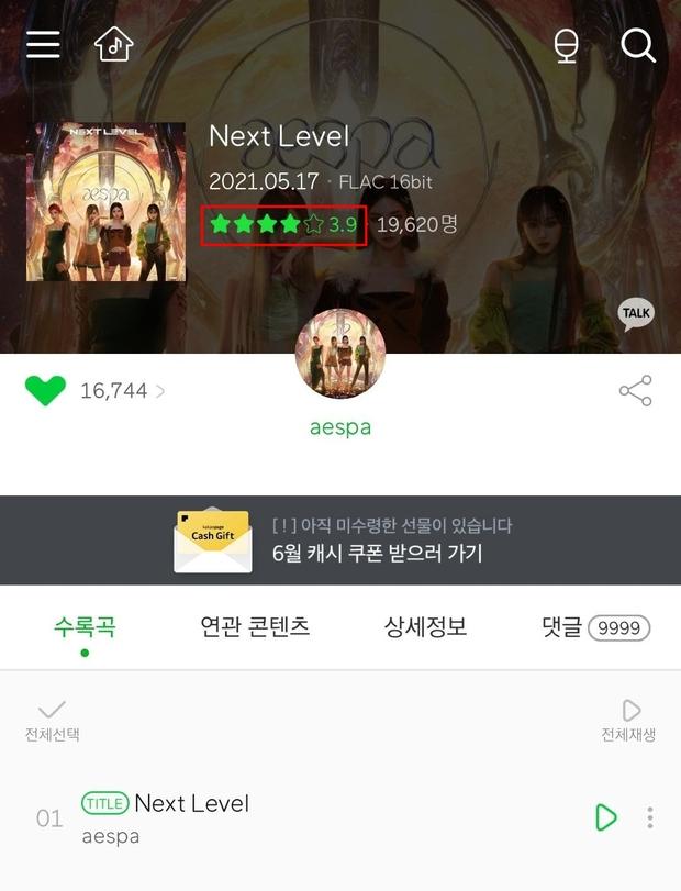 Điểm số bản hit của aespa đột ngột giảm mạnh sau khi No.1 Melon, fan BTS bức xúc vì bị đổ vỏ là thủ phạm? - Ảnh 2.