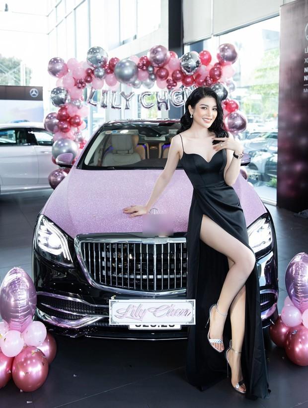 LiLy Chen - mỹ nhân bị đồn yêu cùng 1 tỷ phú với Ngọc Trinh: Tuổi thơ cơ cực sống bằng tiền từ thiện, nay sở hữu tài sản hàng chục tỷ đồng - Ảnh 11.