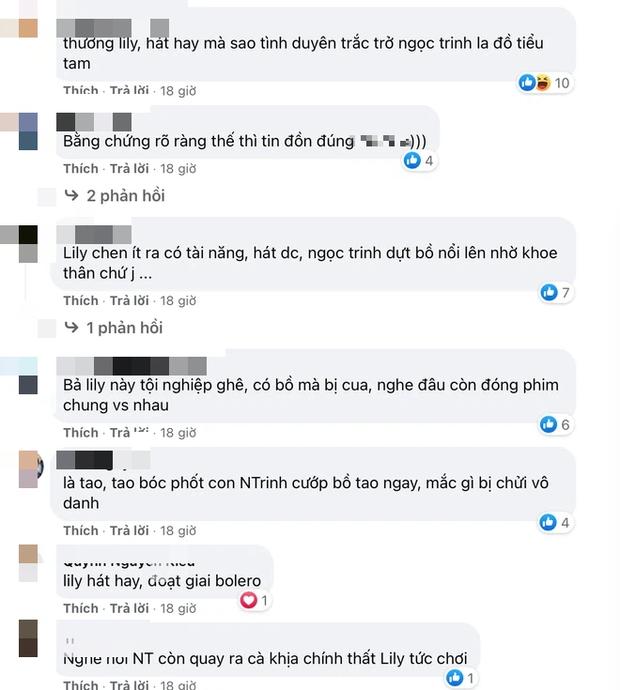 Netizen gọi tên vì nghi vấn chung bồ với Ngọc Trinh, Lily Chen khoá Facebook liền tay! - Ảnh 6.