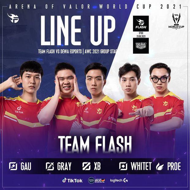 AWC 2021: Team Flash để thua đội tuyển bị xem là yếu nhất bảng khiến cộng đồng Liên Quân phẫn nộ cực điểm - Ảnh 1.