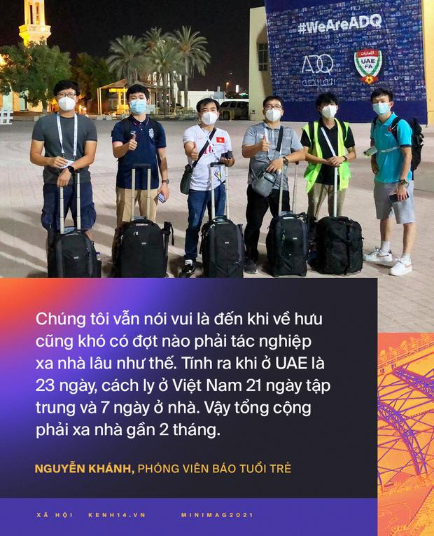 Phóng viên Việt Nam sang UAE tác nghiệp vòng loại World Cup giữa bão Covid-19: Hành trình cam go và ngày 21/6 trong khu cách ly - Ảnh 14.